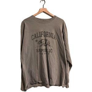 EUC Comfort Colors California Republic T-Shirt